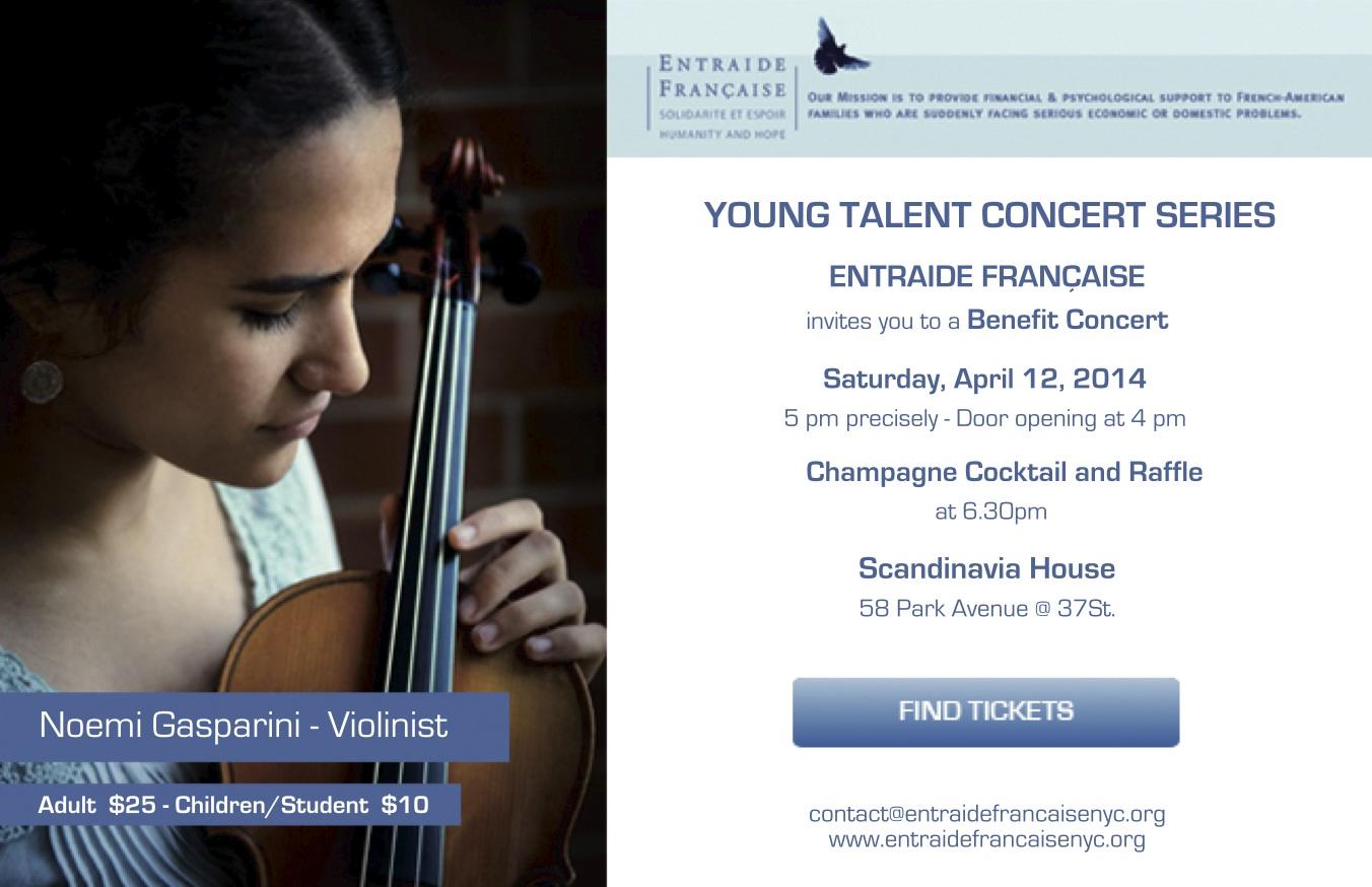 Photo Invitation Concert 12 04 2014