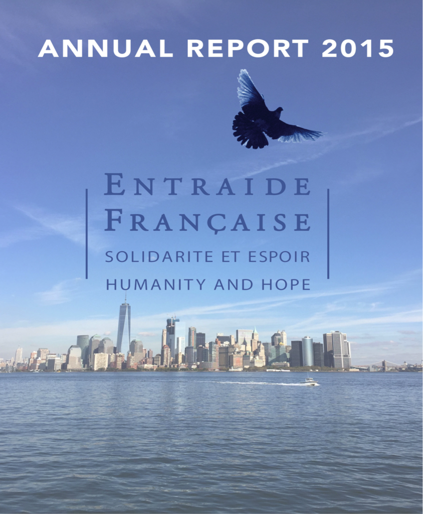 annual report cover 2015